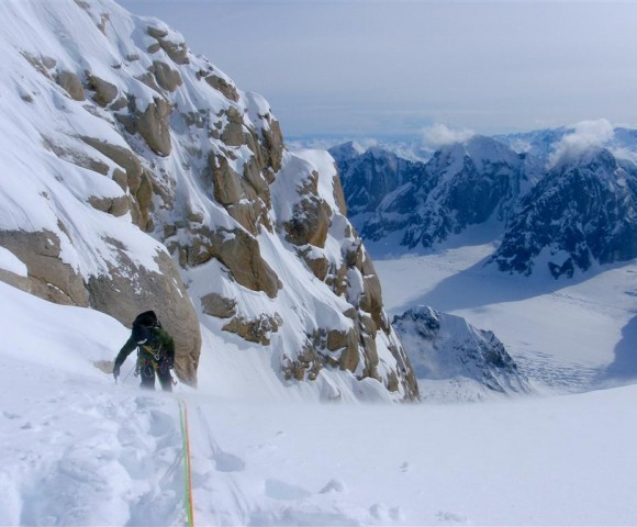 Ham and Eggs Couloir, Mooses' Tooth, AK