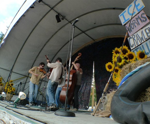 Ossipee Valley Music Festival stage, Cornish, NH