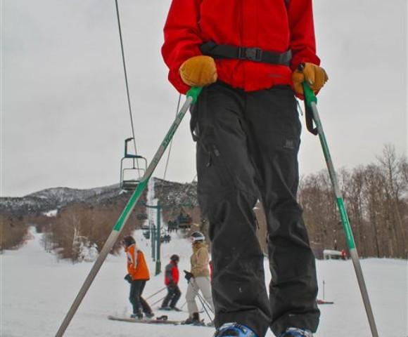 Ski Patroller, Smugglers' Notch, Jeffersonville, VT
