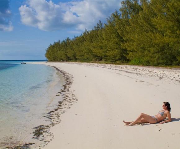 Munjack Cay beach, Abacos, Out Islands, Bahamas