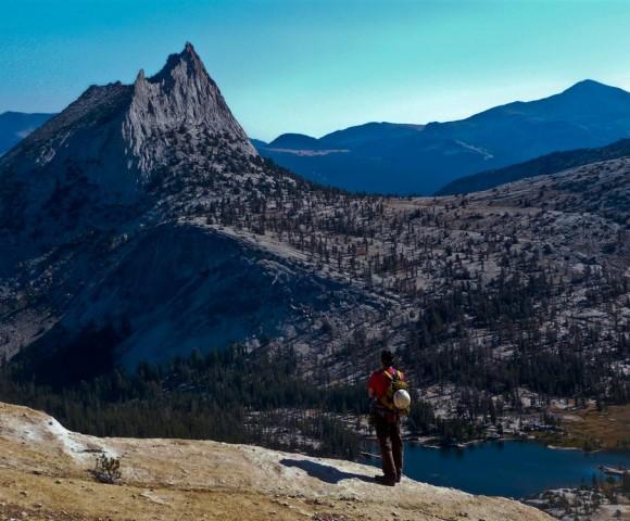 Catherdral Peak from Tenaya Peak, Tuolamne Meadows, Yosemite National Park, California