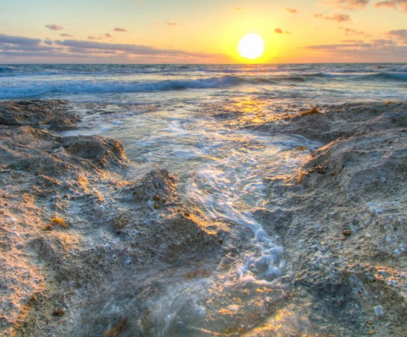 Long Island Beach, Out Islands, Bahamas