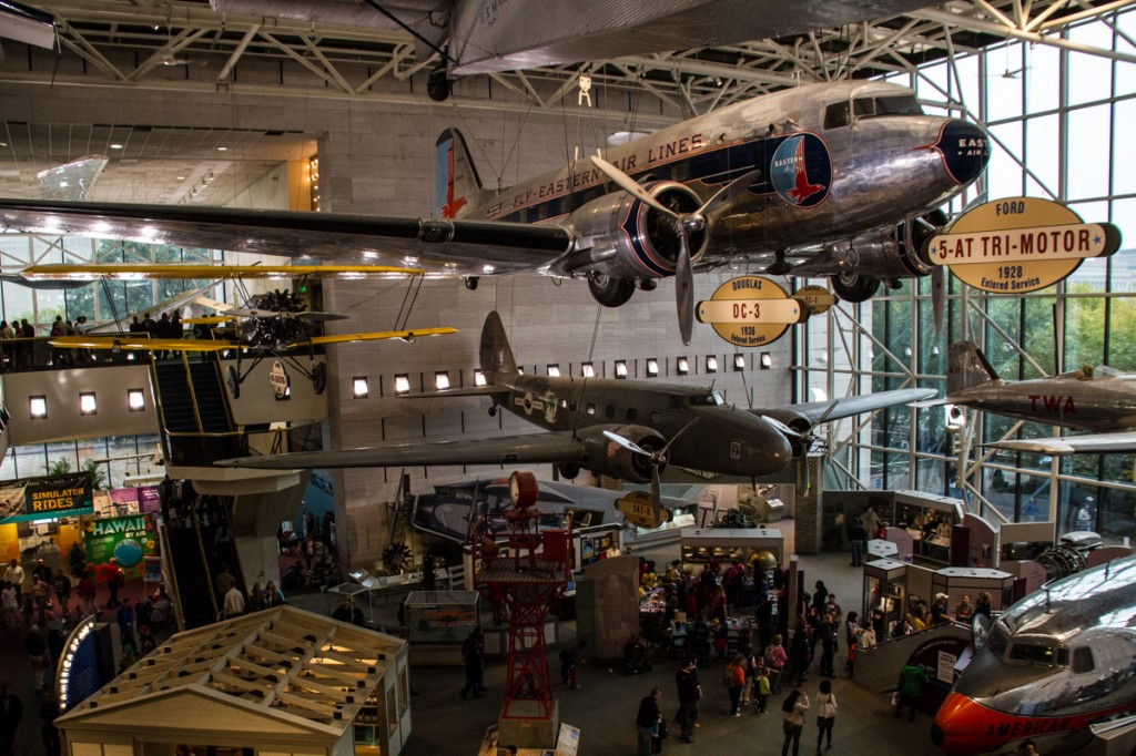 the great hall of Air and Space