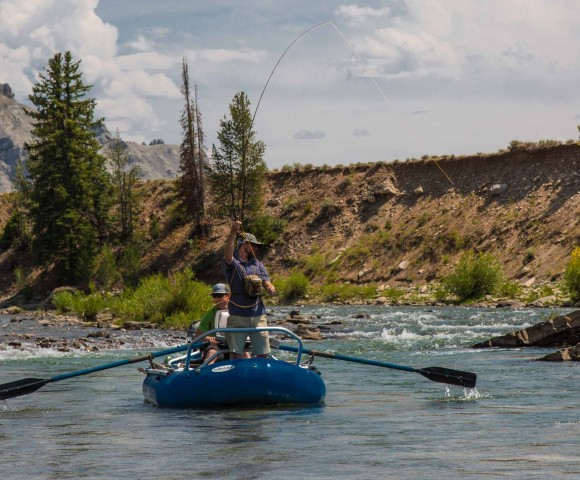 Gros Ventre River, Wyoming