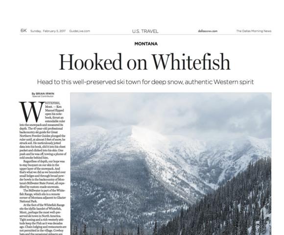 Hooked on Whitefish